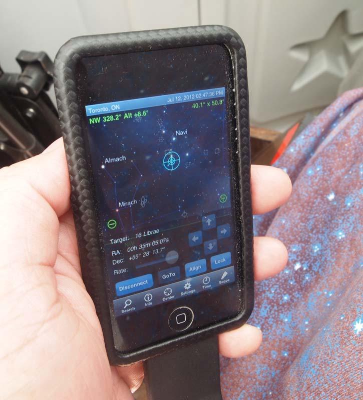DSC – Digital Setting Circles with Sky Safari and Arduino