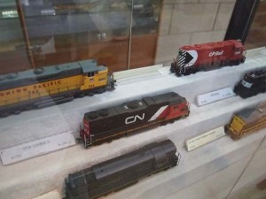 HO models in the Bachmann store.